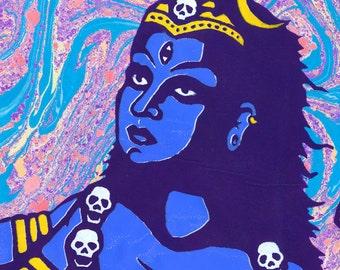 "Goddess Kali Ma 5""x7"" Giclee Print"