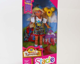 Mickey's Toontown Stacie - Vintage Mattel Fashion Doll c. 1993 NRFB
