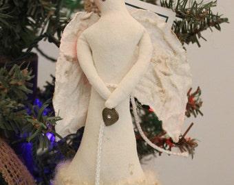 Angel, Angel Ornament, Angel Christmas Decoration, Handmade Angel Ornament