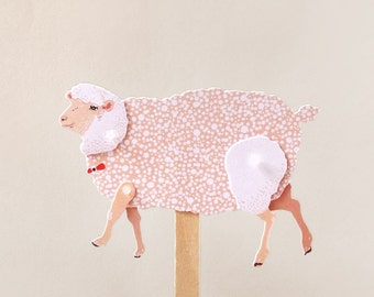 DIY Paper Puppet - SHEEP