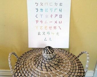 Chinese Zhuyin Alphabet Poster 11x14