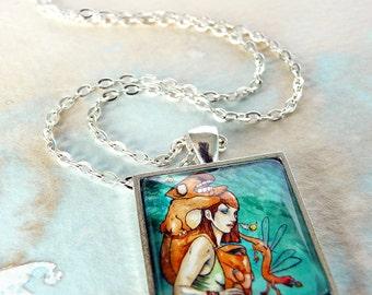 Inspirational Necklace, Inspirational Jewelry, Inspirational Her, Travel Jewelry, Mothers Day Gift - The Journey Necklace