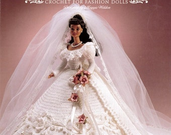 Enchanted Bride Crochet Pattern Leaflet - PDF