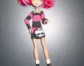 Monster High - Doll Clothes - Doll Dress - Howleen - Twyla - Monster High Doll Clothes