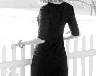 Downtown Lace Dress Sewing Tutorial
