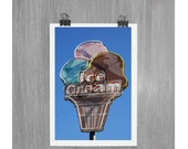 Ice Cream - Put-In-Bay Ohio - 4 x 6 photograph