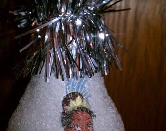 Tiana keepsake light-bulb ornament