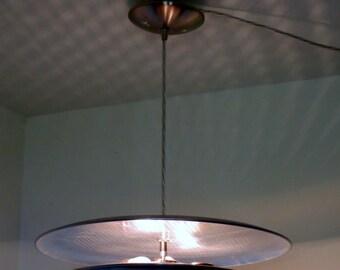 Forbidden Planet flying saucer pendant light