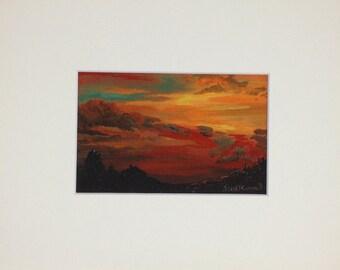Sky at Dusk - Print