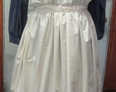 Pioneer/Victorian Pinafore/Apron Costume Vintage  Hand Crafted