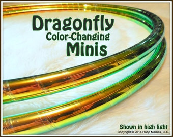 "DRAGoNFLY Color Changing PoLYPRO Mini Twins Set.  3/4"" OR 5/8"" THiN Polypro, OR 1/2"" Advanced PE! Free Inside Grip Option."