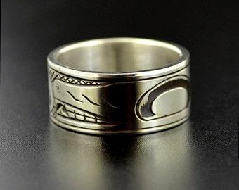 Haida ring Etsy CA