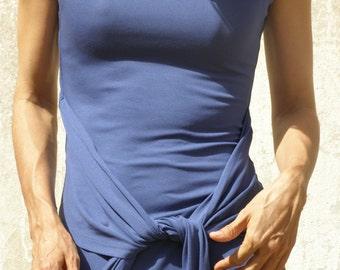 Summer tunic top - Tibetan wrap tunic -Wrap top/tunic  for women-Women's clothing-tunics