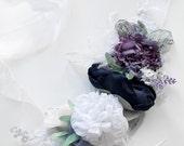Xmas SALE Peonies BELT SASH bridal