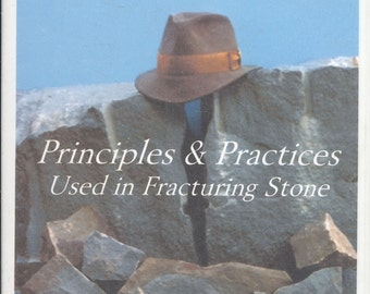 Stonecutting 101, Principles & Practices Used in Fracturing Stone How To VHS: by Bill Child Video Tape, CrabbyCats, Crabby Cats