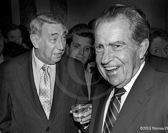 Nixon and Cosell, President and Sportscaster