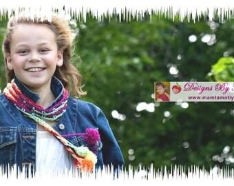 Hippie Crochet Pattern   Learn to Crochet