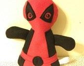 Baby Deadpool Plush parody -  In Stock