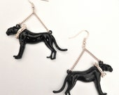 Night Walker Trapeze Earrings