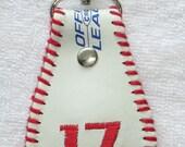 Baseball keychain keyfob