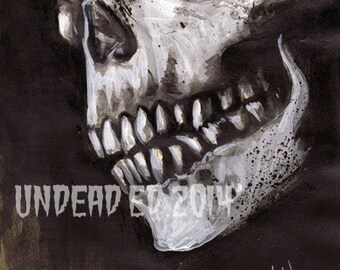 Dictionary Painting EVIL DEAD 2 Print by Undead Ed