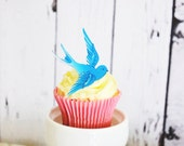 Wedding Cake Topper The Original EDIBLE Blue Sparrows - Cake & Cupcake toppers - Food Accessories