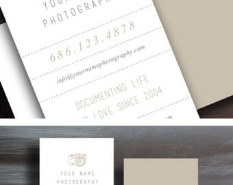 Photographer Business Card Design Template - Business Cards for Photographers - c0023