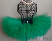 Green Tutu with Rosette Bow - Luxe Collection