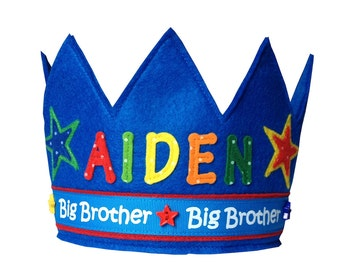 Big Brother Crown - Personalized / Custom Version