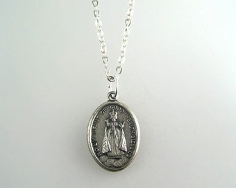 Holy Infant of Good Health Medal Necklace