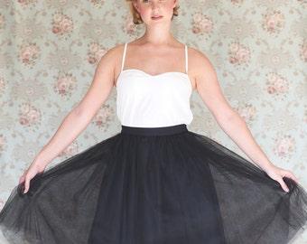 White lace slip dress / chemise , white lace undergarment, under sheer clothing