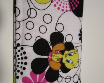 Tweety Bird Wallet, credit card wallet, Loony Tunes, Gift Card Holder, Business Card Holder, Small Wallet, Tweety Bird Fabric Wallet