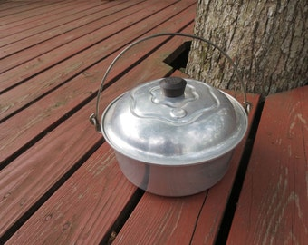 Items Similar To Vintage Wear Ever Small Aluminum Roasting