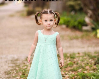 Lorelei Girl Dress PDF Pattern