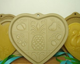 Cookie Mold Pineapple Valentine Heart Hospitality Shortbread Fruit Design