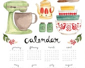 Kitchen Calendar 2015