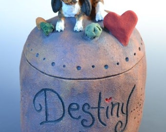 Custom Rabbit, Bunny, Chinchilla, Ferret, Hamster, Parrot , Small Pet or Small Animal Urn