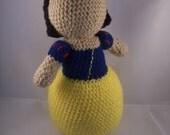Snow White inspired Crochet Pattern