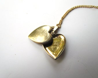 "Vintage Locket ""Love Bill 1977"""