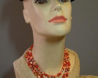 Vintage Hyacinth Necklace
