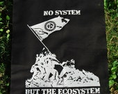 No System but the Ecosystem - backpatch and free patch (30 different designs available)