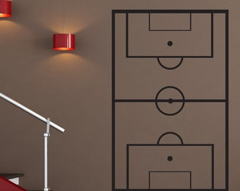 Vinyl Wall Art Decal Sticker Soccer Coach Play Board 1321B