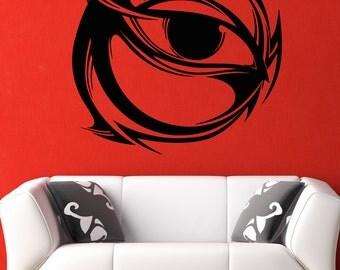 Vinyl Wall Decal Sticker Circle Eye Design 5261m