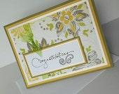 Congratulations Greeting Cards: Blank & Handmade - Tapestry Rug