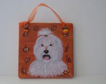 Fall - Old English Sheepdog