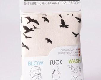 Organic Hanky Book, Organic Cotton Handkerchief Book