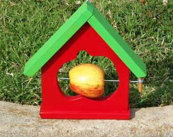 Birdfeeder-House & Apple Shape BUILT TO ORDER