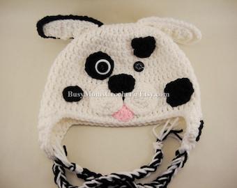 Dalmatian baby hat Etsy