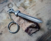 Roman short sword keychain. Historical weapon miniature from Roman Empire soldiers