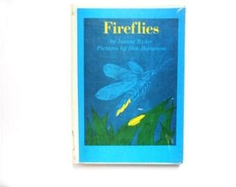 Fireflies, a Vintage Children's Book